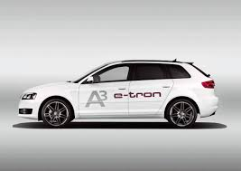 Audi A3 e-tron electrique