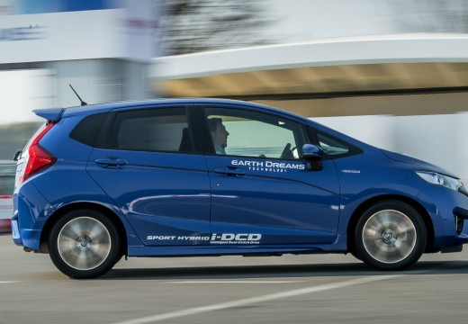 La fiche technique de la Honda-Fit Jazz
