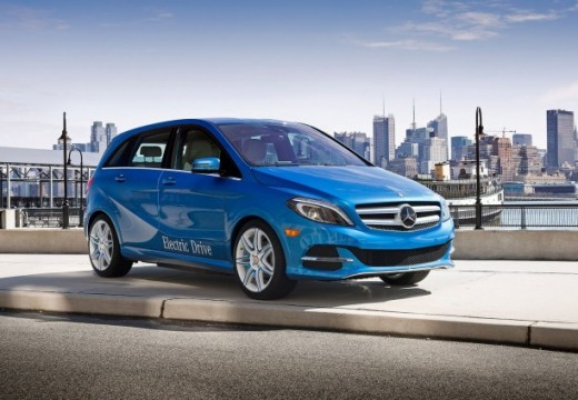 La fiche technique de la Mercedes Classe B Electric Drive