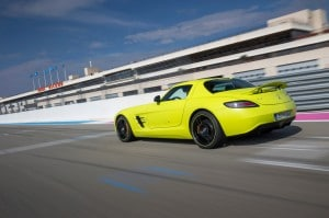 Mercedes SLS AMG Electric Drive 2013