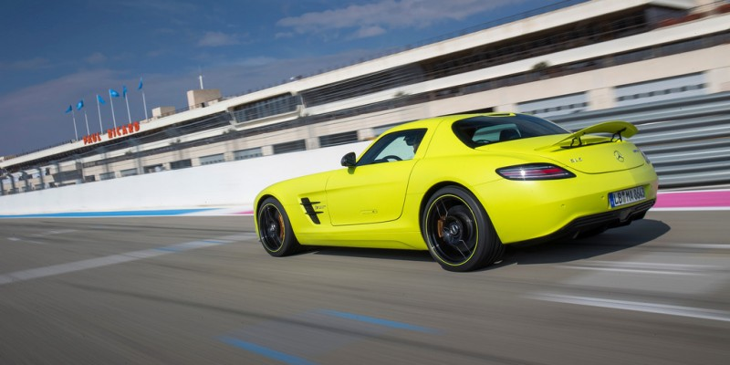 La fiche technique de la Mercedes SLS AMG Electric Drive